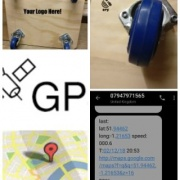GPS Relocation Skate Collage