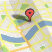 GPS Relocation Skate Map Icon